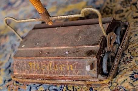 Čištění koberců v minulosti