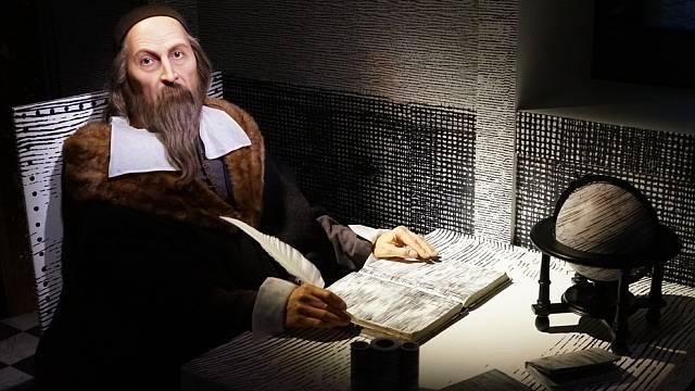 Jan Amos Komenský v pražském muzeu voskových figurín