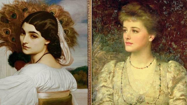 V době královny Viktorie se preferovala éterická postava a průsvitná pleť.