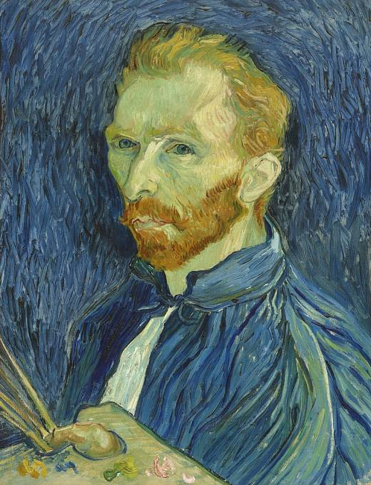 Vincent van Gogh - Vlastní portrét
