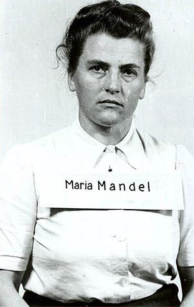 Maria Mandel byla souzena v procesu Osvětim společně s Hildegard Lächert.