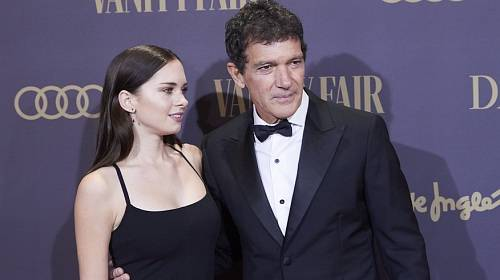 Antonio Banderas se svou dcerou Stellou