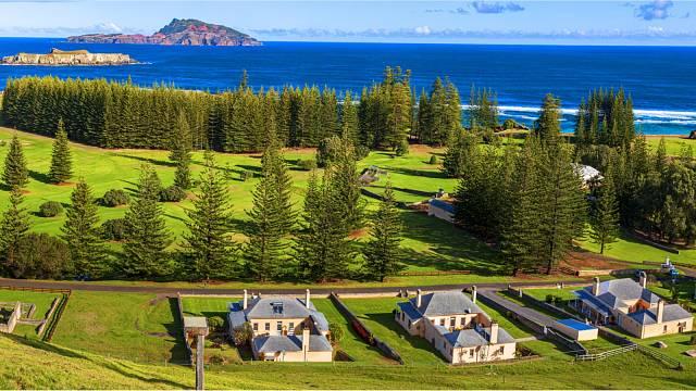 Australský ostrov Norfolk