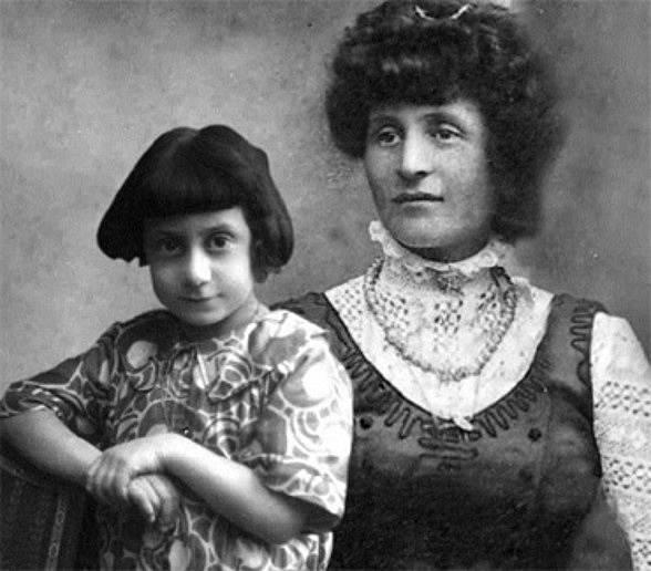 Ida Dalser s Mussoliniho synem Benitem Albinem