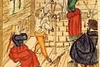 Mučení domnělé čarodějnice v roce 1557