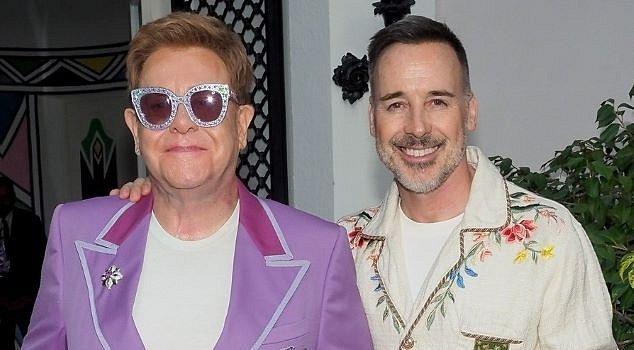Elton John a David Furnish