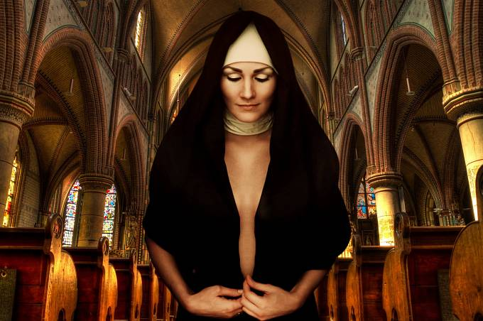 Jednou z mála nadějí pro zchudlé prostitutky byly kláštery.