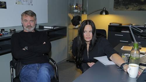 Jiří Dvořák a Jitka Čvančarová