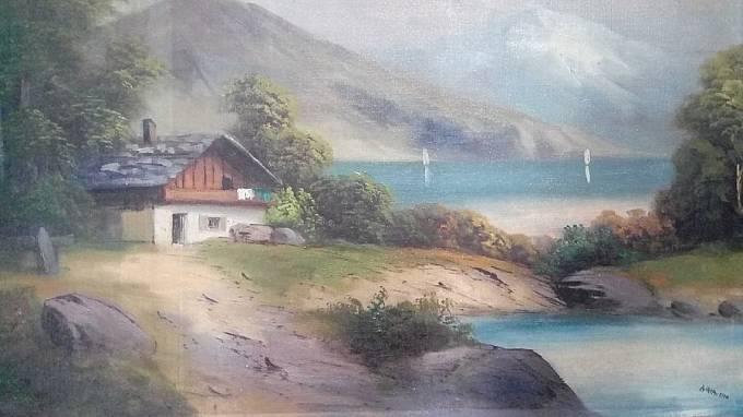 Dům u moře, A. Hitler 1910