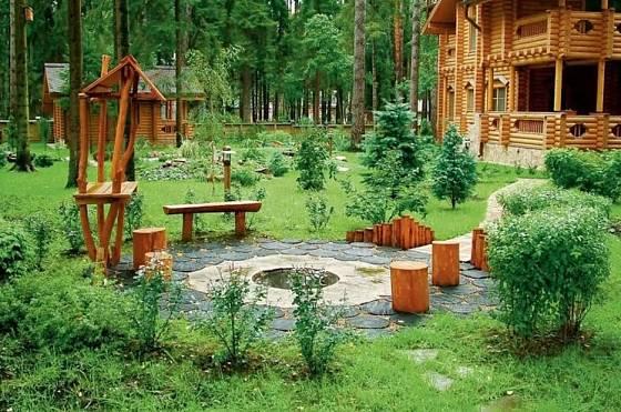 Zahrada by se měla přizpůsobit okolí domu.