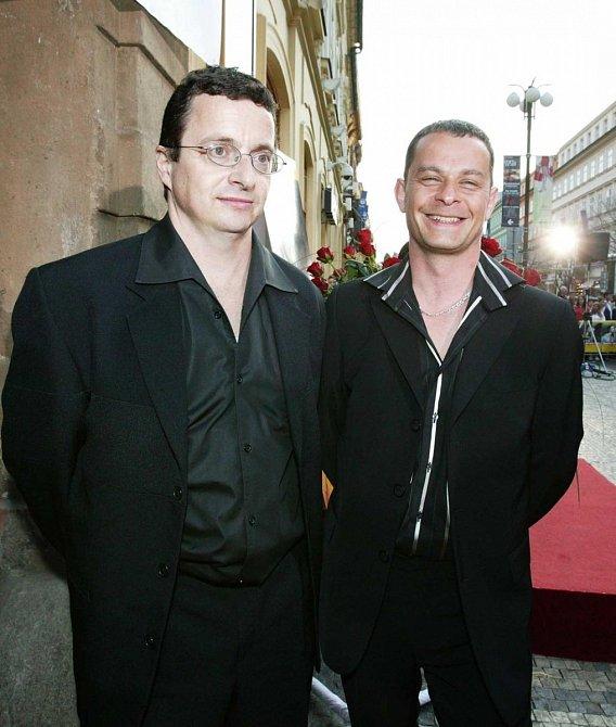 Filip Renč a Michal Viewegh