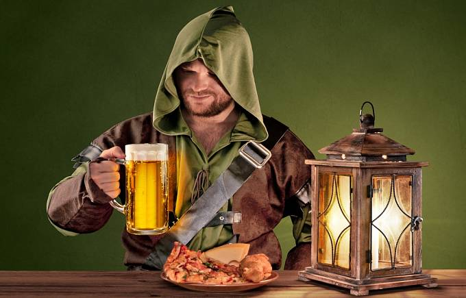 Pivo se pilo více než voda.