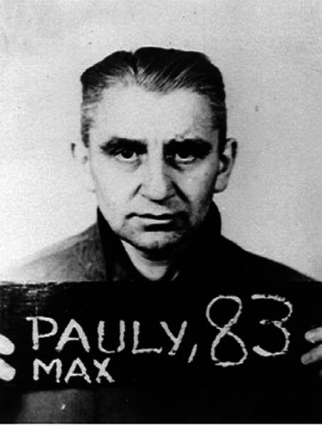 Max Johann Friedrich Pauly byl velitelem koncentračního tábora Stutthof od září 1939 do srpna 1942.