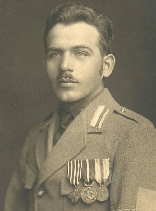 Josef Arazim v uniformě italských legií
