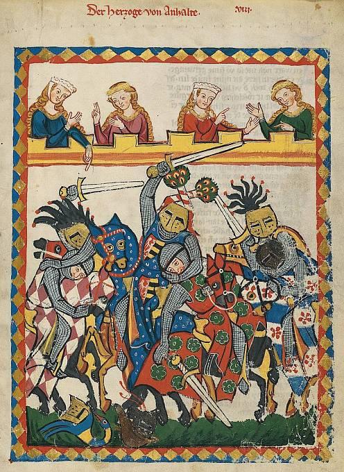 Karel IV. miloval turnaje.