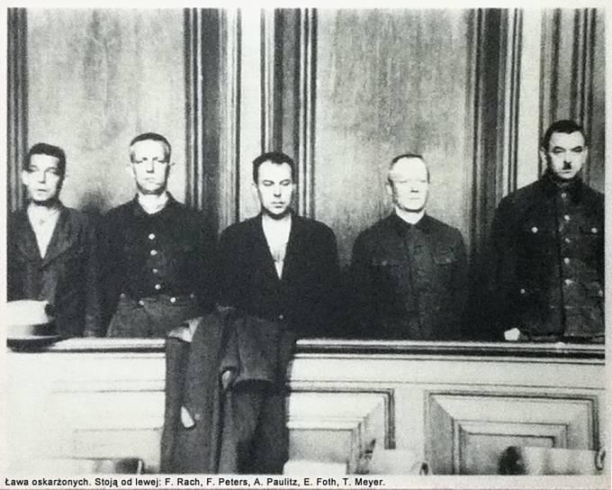 Soudní proces s dozorci koncentračního tábora Stutthof.