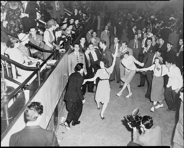 Tanečníci swingu, 1938, New York