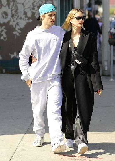 Justin Bieber s manželkou Hailey