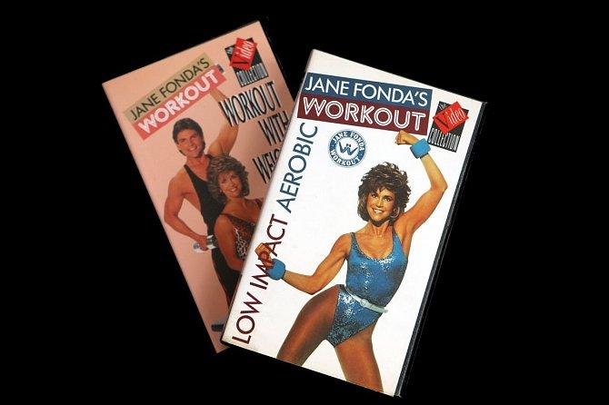 Jane Fonda vydala několik DVD.