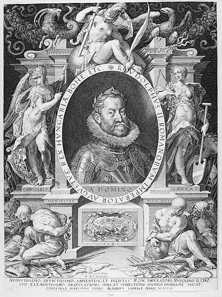 Rudolf II. učinil z Prahy zlatý důl pro obchodníky a vzdělance.