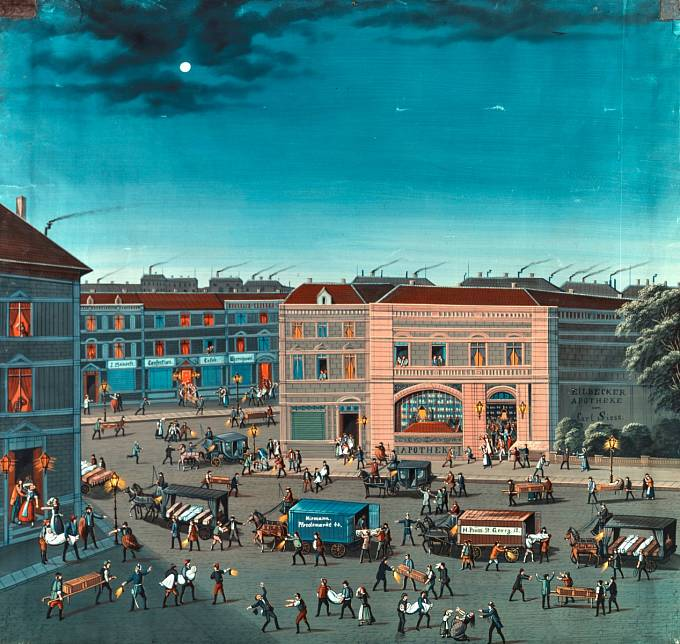 Cholera v Hamburku, rok 1892.