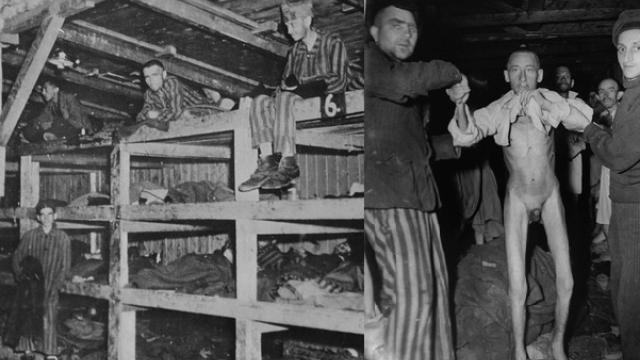 Osvobození koncentračního tábora Buchenwald.
