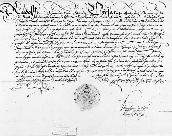 Nařízení Rudolfa II.
