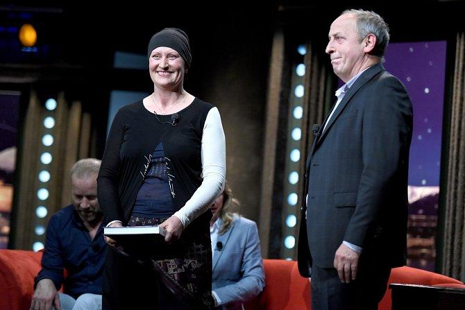 Zdeňka Pohlreichová v show Jana Krause