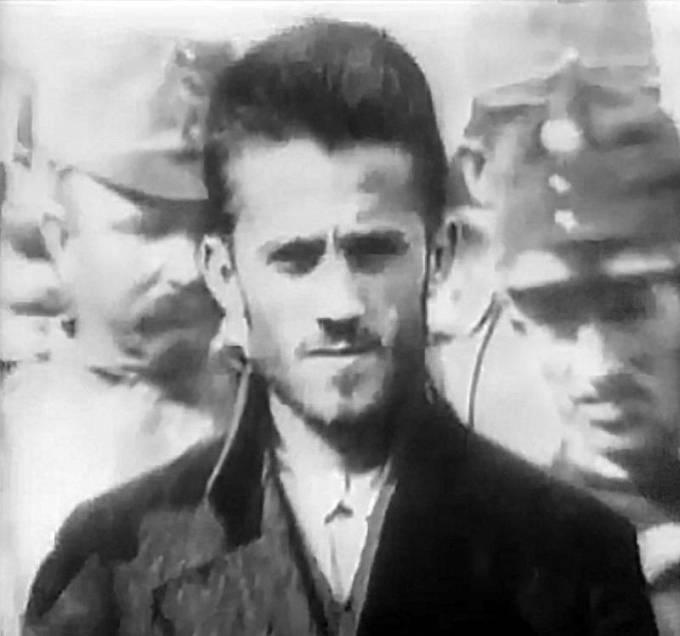 Gavrilo Princip během soudního líčení