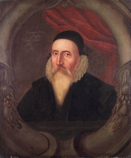 John Dee zaučoval Kelleyho.