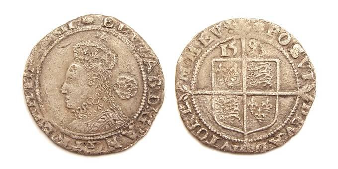 Mince s podobiznou královny