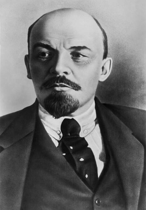 Lenin na archivní fotografii