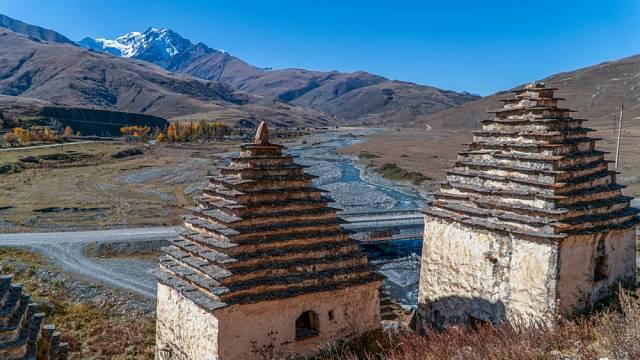 Toto starodávné pohřebiště bylo funkční mezi 14. až 18. stoletím