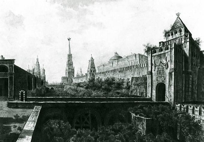 Kremlin v roce 1800