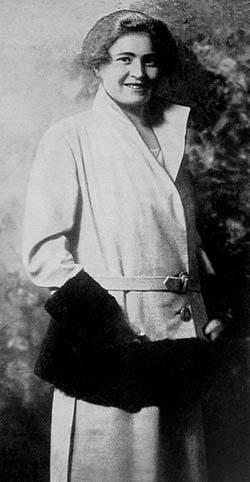 Rachele Mussolini byla označována za jedinou Mussoliniho manželku.
