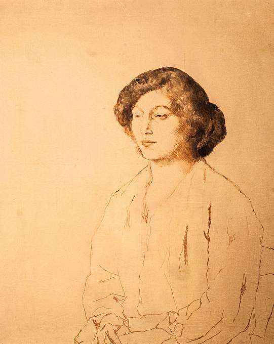 Portrét Fernande Olivier, byla nejslavnější múza a milenka Pabla Picassa.
