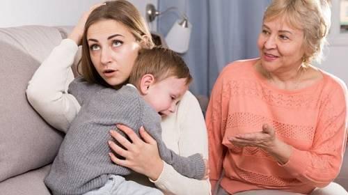 Trable s přítelovou matkou