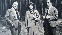 Olga Scheinpflugová s Poláčkem a Steinbachem