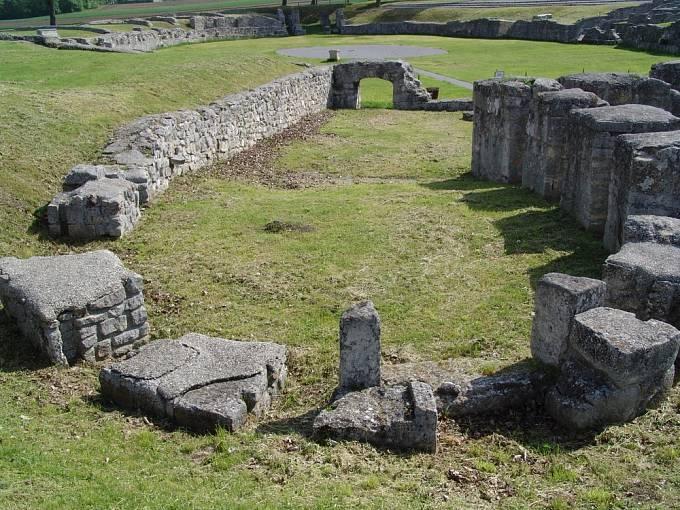 Římská aréna ve městě Carnuntum