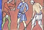 Mužské spodky se začaly rýsovat v raném středověku.