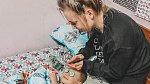 Caitlin s dětmi