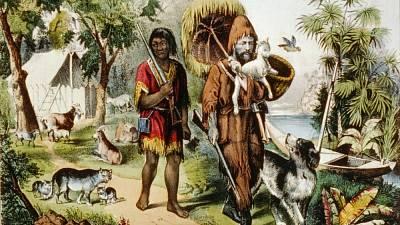 Dotyk - Skutečný příběh Robinsona Crusoe: Pobyt na ostrově drzému muži  zachránil život