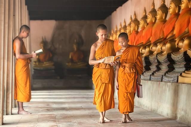 Buddhisté jsou považováni za nejmírumilovnější lidi na světě.