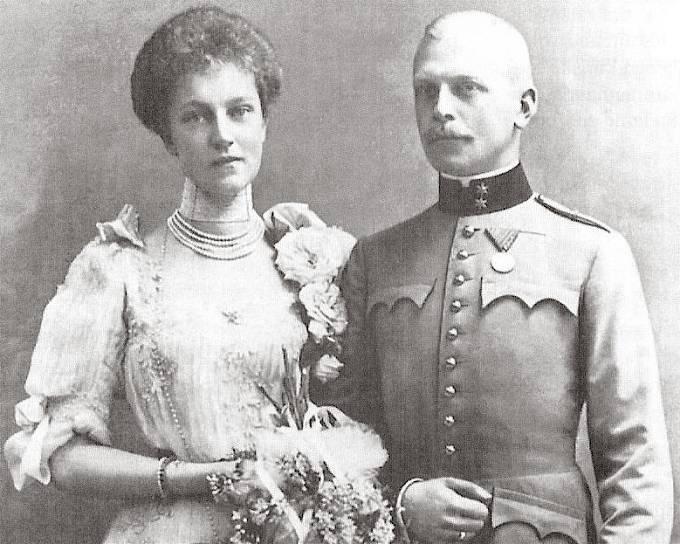 Arcivévodkyně Alžběta Marie a princ Otto Windisch-Graetz