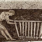 Děti byly zaměstnávány i v uhelných dolech.