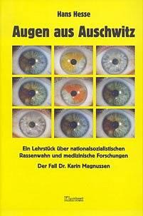 """Jedna z knižních publikací dr. Karin Magnussen """"Oči z Osvětimi"""""""