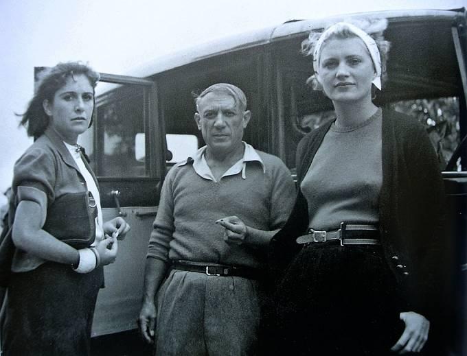 Dora Maar, Picasso & Lee Miller, rok 1937.