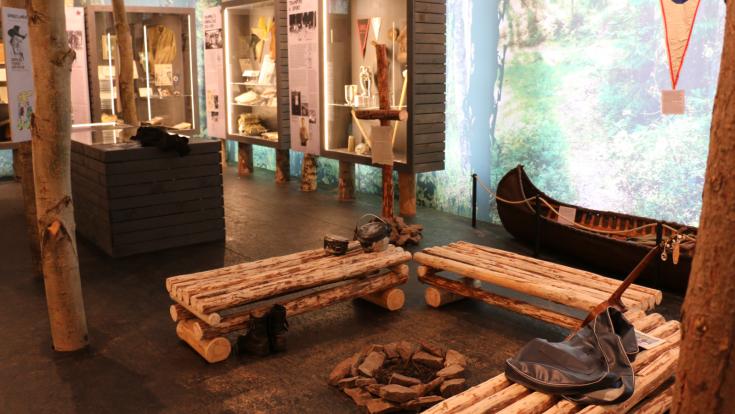 Výstava Století trampingu v Národopisném muzeu Národního muzea