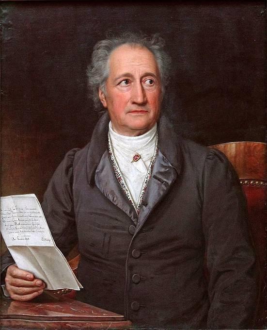 Básník Goethe napsal o Götzovi divadelní hru.
