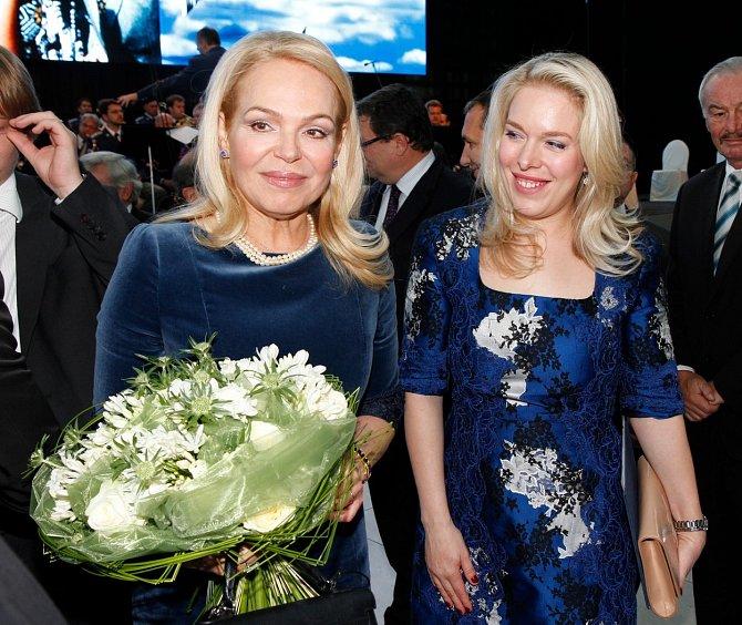 Dagmar Havlová s dcerou Ninou